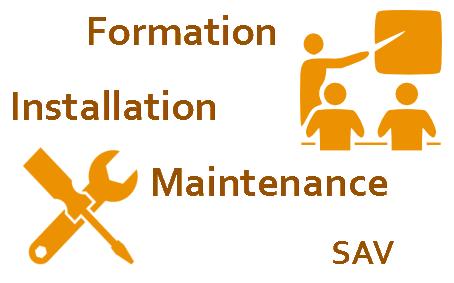 Tableaux interactifs nos services